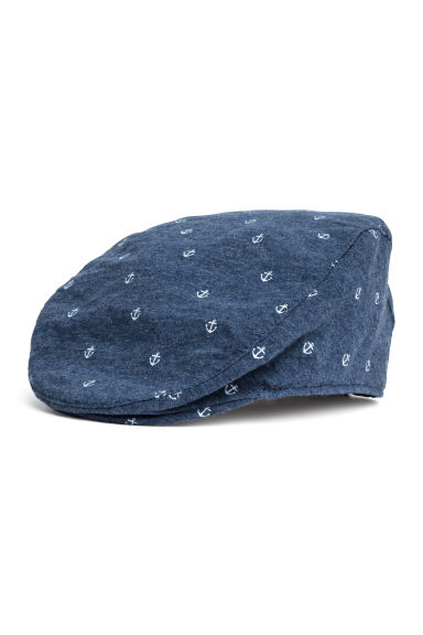 Jersey peaked cap - Dark blue/Anchor - Kids | H&M