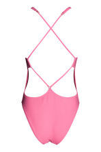 Swimsuit High leg - Pink - Ladies | H&M CN 3