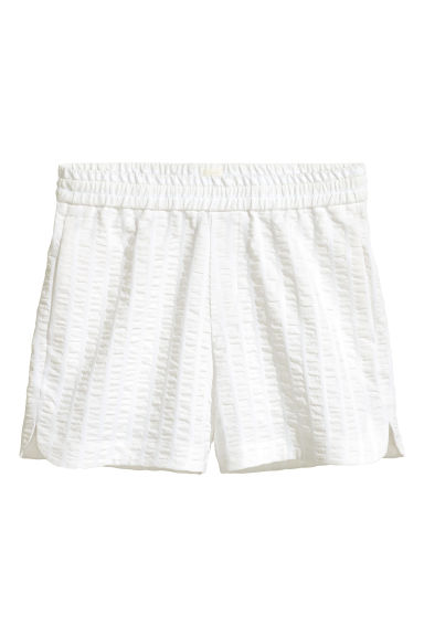 Short shorts - White - Men | H&M CN