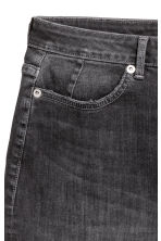 Denim skirt - 牛仔黑 -  | H&M CN 4