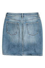 Denim skirt - Denim blue - Ladies | H&M CN 3