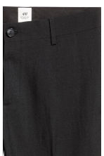 Wool suit trousers - Black - Men | H&M CN 3