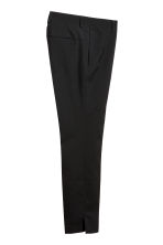 Wool suit trousers - Black - Men | H&M 2
