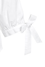 Off-the-shoulder blouse - White - Ladies | H&M GB 3