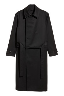 Trench-coat en laine