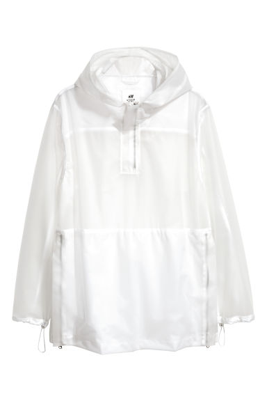 Transparent jacket - White - Men | H&M 1