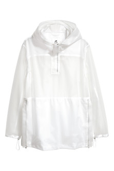 Anorak transparent