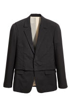 Double-layered wool jacket - Black - Men | H&M CA 1