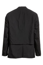 Double-layered wool jacket - Black - Men | H&M CA 2