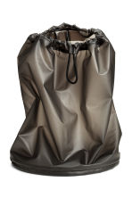 Plastic backpack - Dark grey - Men | H&M 1