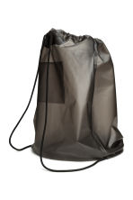 Plastic backpack - Dark grey - Men | H&M CA 2