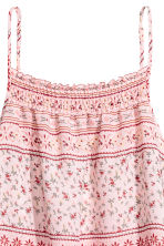 Top drappeggiato - Rosa/fantasia - DONNA | H&M IT 3