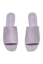 Peep-toe mules - Lilac - Ladies | H&M CN 2