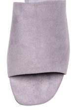Peep-toe mules - Lilac - Ladies | H&M CN 3