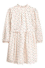 Cotton dress - Natural white/Heart - Kids | H&M 2