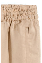 Lyocell pull-on trousers - Beige - Ladies | H&M 3