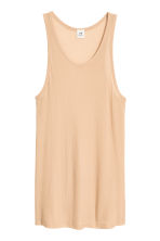 Silk vest top - Beige - Men | H&M 1