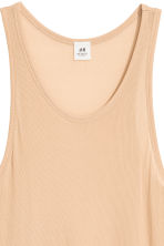 Silk vest top - Beige - Men | H&M 2