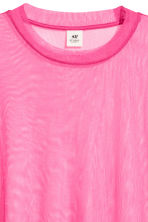 Wide mesh T-shirt - Cerise - Men | H&M 2