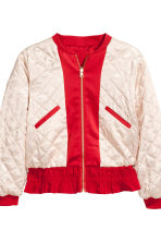 Reversible bomber jacket - Dark red - Kids | H&M 4