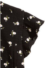 Cotton blouse - Black/Small floral - Kids | H&M CN 3