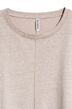 Wide T-shirt - Grey beige - Ladies | H&M 3