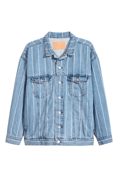 Uni Jacket 2 - Denim blue/Striped - Men | H&M 1
