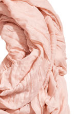 Large scarf - Powder pink -  | H&M 2