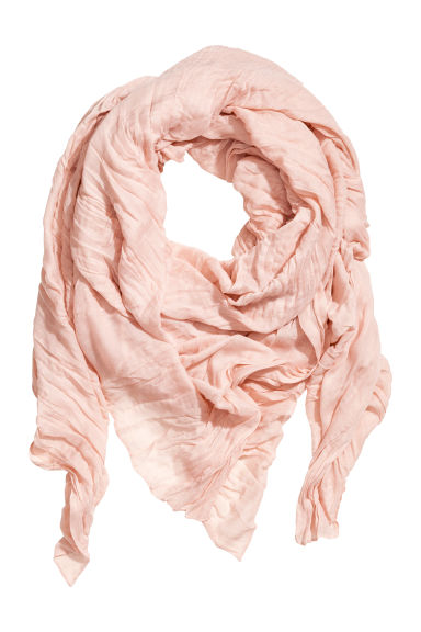 Large scarf - Powder pink -  | H&M CA