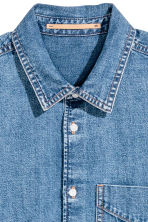 Uni Shirt 1 - Denim blue - Ladies | H&M 4