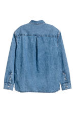 Uni Shirt 1 - Denim blue -  | H&M 3