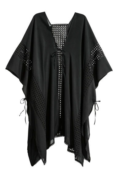 Poncho - Black - Ladies | H&M CN 1