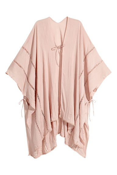Poncho - Powder pink - Ladies | H&M CA 1