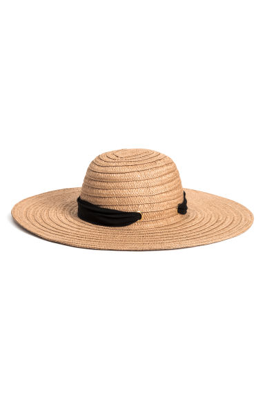 Straw hat - Natural - Ladies | H&M JP 1