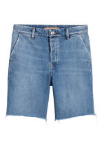Uni Shorts - Denim blue - Ladies | H&M 2