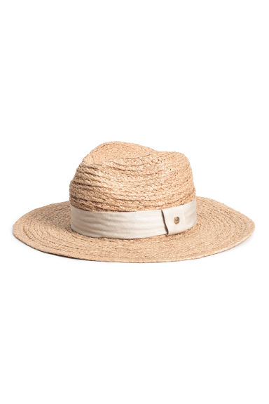 Straw hat - Natural - Ladies | H&M 1