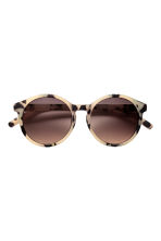 Sunglasses - Light beige/Pattern - Ladies | H&M GB 2