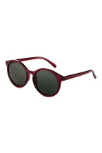 Sunglasses - Burgundy - Ladies | H&M 1