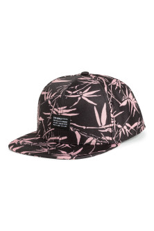 Patterned twill cap