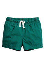 2-pack cotton shorts - Mint green/Cars -  | H&M 2