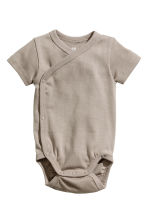 2-pack wrapover bodysuits - Mole - Kids | H&M 2