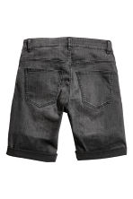 Denim shorts - Black washed out - Men | H&M 3