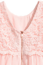 Lace dress - Light pink -  | H&M CN 4