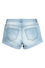 Short denim shorts - Light denim blue - Ladies | H&M CN 3