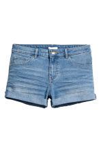 Short denim shorts - Denim blue - Ladies | H&M 2