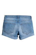 Short denim shorts - Denim blue - Ladies | H&M CN 3