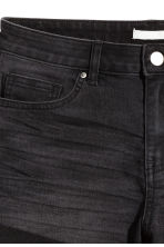 Korta jeansshorts - Nearly black - DAM | H&M FI 4