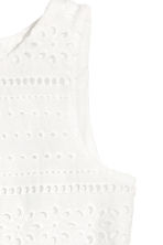 Embroidered dress - White - Kids | H&M 5