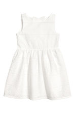 Embroidered dress - White - Kids | H&M CN 2