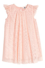 Tulle dress - Light pink/Glittery - Kids | H&M 2